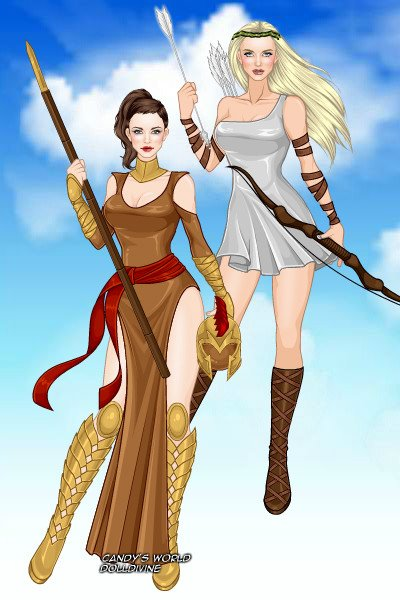 artemis and athena relationship to zeus