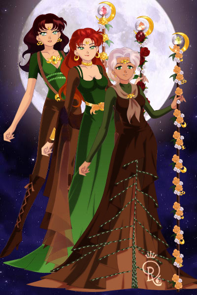 Mistress, High Mistress, and Mistress Su ~ This family of Sylvana-Tìlyach is parti