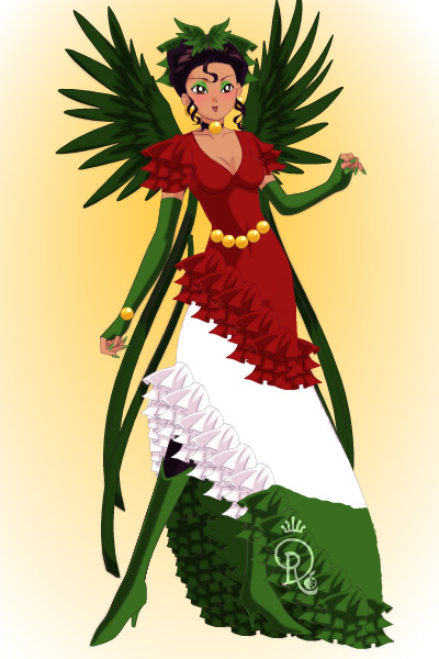 Quetzal Couture 2 ~ So, this is my second try at a dress pat