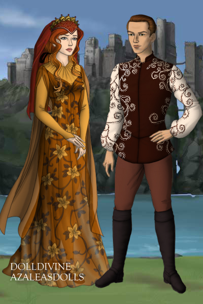 Lord Talin and Lady Nirma ~ Lord Holder of Fervis Hold, and his Lady