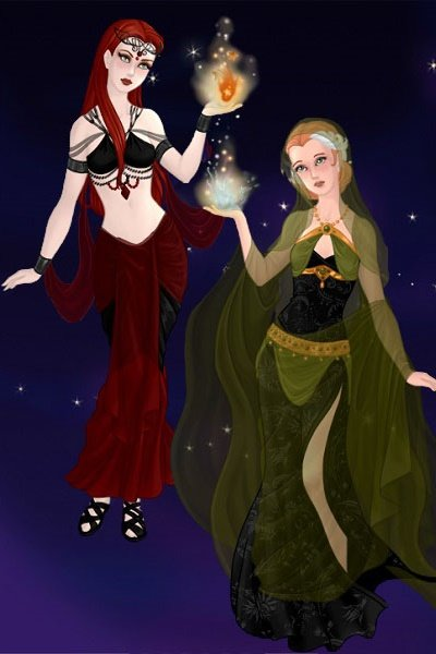 Istharé\'s Wedding ~ (#TwilightRealm, #Witches, #Dorch #Fae,
