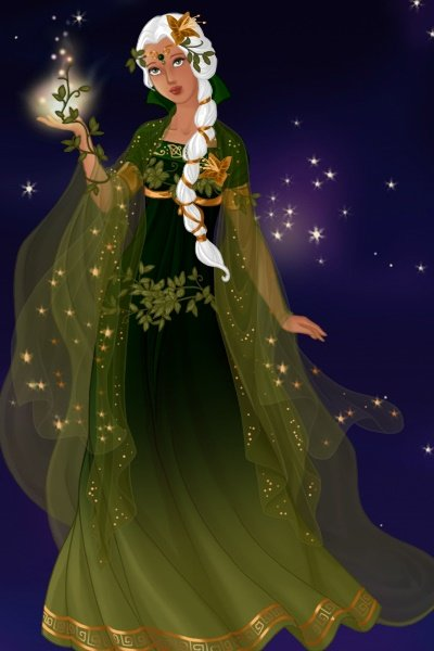 Bedecked to Observe the Solstice ~ Here is the Mistress Supreme Ynarra in a