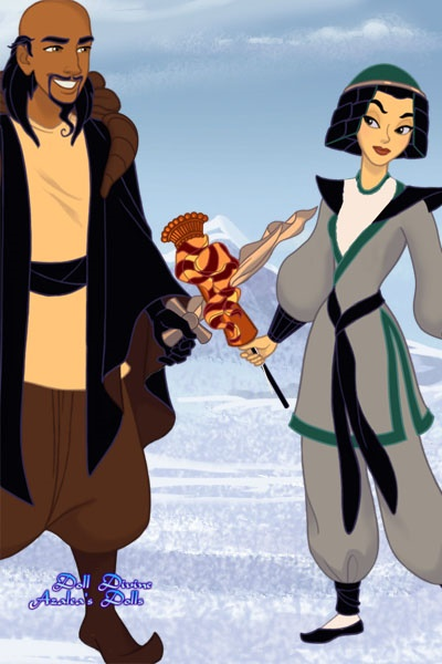 Inspiration Strikes ~ Continuing my #Mulan tale for @DysMalLex