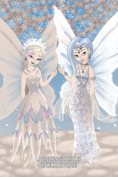 Snow Fairies ~ For @PhantomCat's #IcePrincess contest,