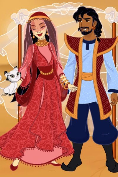 High Desert Wedding ~ Concluding my #Mulan 2 retelling: When t