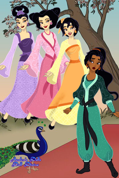 A Totally New Princess ~ Continuing my #Mulan 3 story: When Khitt