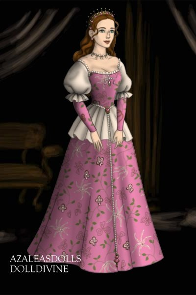Lady Mary Linton, Maid of Honor ~ A Maid of Honour to Queen Christine of T