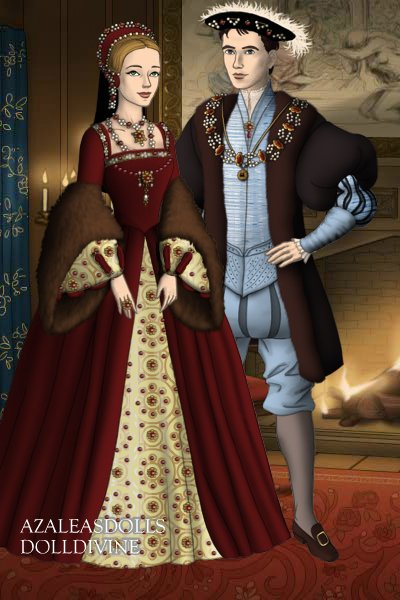 Lady Mary Sirivwerry and Sir Henry Cirvi ~ Mary and Henry as a happy couple before
