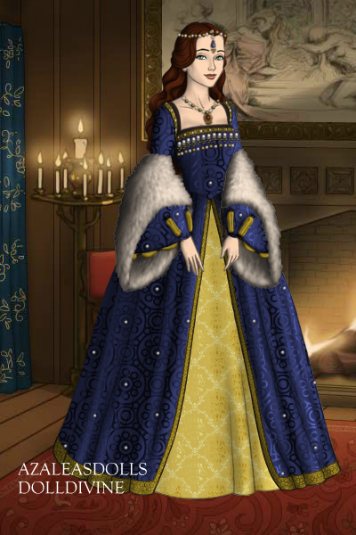 EpicNinjaGirl as a Tudor - Request From  ~ You said you wanted a Tudor gown, so I m