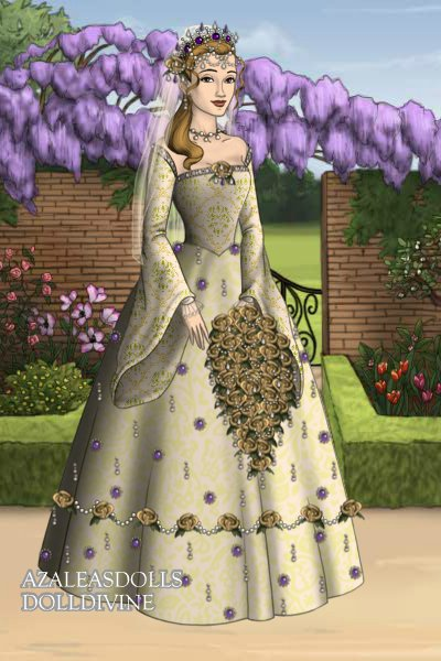 A Wedding Gown For Catherine Howard ~ Yes, I know white wasn't the standard co