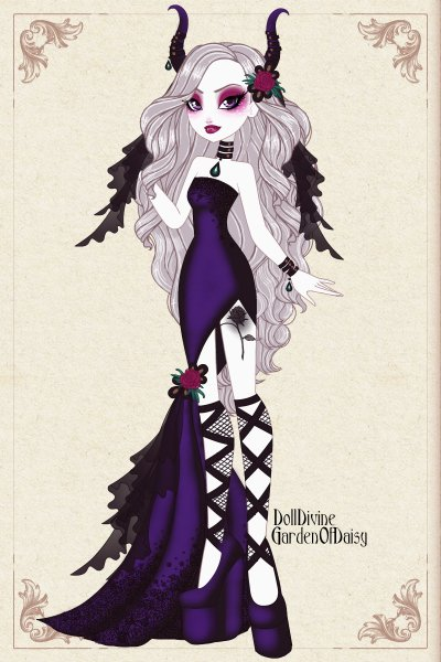 A Succubus at the ball ~ This is an entry for the #MonsterBall #C