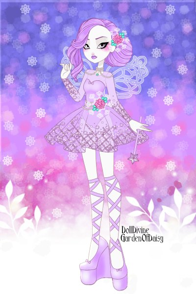 Winter Fairy ~ Since I love #Winter ,I decided for anot