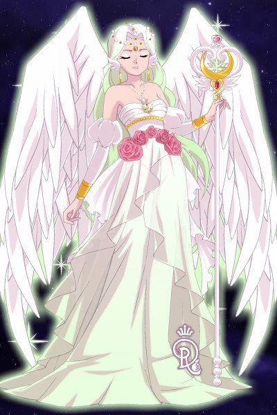A new Goddess is born... ~ My Princess-Version of my OC Illyaster,