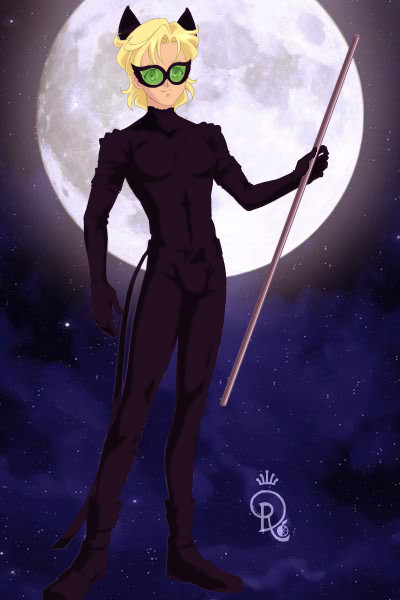 Chat Noir - Miraculous ~ Adrien Agreste #Miraculous #ChatNoir #La