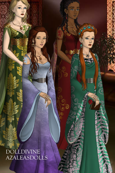 Ladies in Waiting and Sansa Stark ~