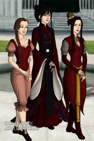 Ty Lee, Mai, Azula ~ Ty Lee, Mai, and Princess Azula from Ava