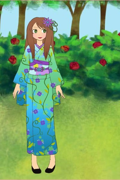 Kimono ~ Just playing on the new game on Azalea's