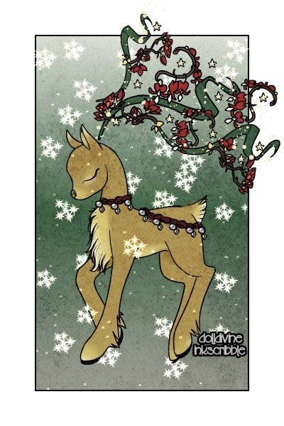 Christmas FlutterDeer ~ Yay!  So my account/doll files got lost,