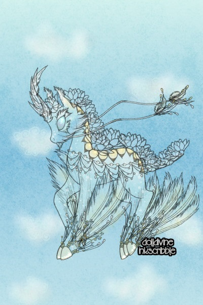 Air Qilin ~ So, I've been doing these elemental Qili