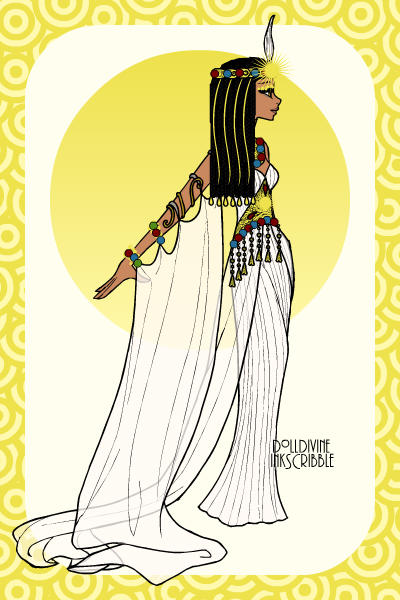 Meryamaat ~ Belove of Maat, the serpent-eye queen. #