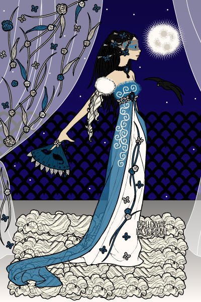 Lady Leaf - Masqurade of the Night ~ #Masquerade #Fullmoon #Night