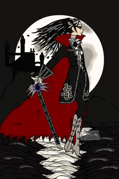 Dark Symphony Under Full Moon ~ Inspired by #Castlevania #vampires #Dark