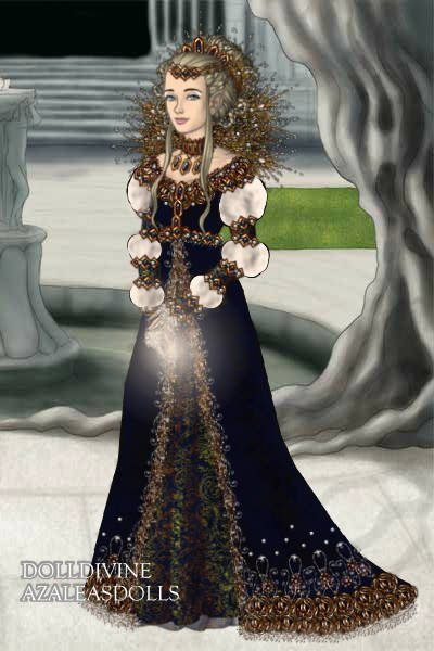 Lady Inanna of Dolldivine (Inanna) ~ Queen of the LotR maker. I was debating