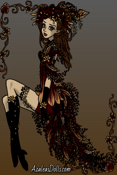 Red, Black and Gold ~ Sleekpunk request for @QueenGrania, hope
