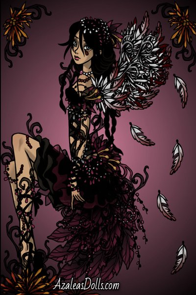 My broken wings... ~ Sleekpunk request for @BBchan, her OC Va
