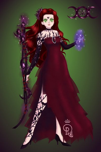 Ankathia of the Union of Vengeance ~ A Sylvana Witch belongs to the Union of