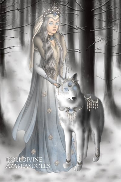 The White Wolf Queen ~ Litâ (li-TAH), Ilatim of the Moon has