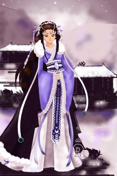 Lady Leaf of the City Yuguan of the Nort ~ For @AvalonTheQuin's contest <a href=htt
