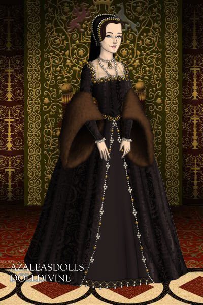 #2 Anne Boleyn (Beheaded) ~ 2nd Wife of Henry VIII / Royal Motto: TH