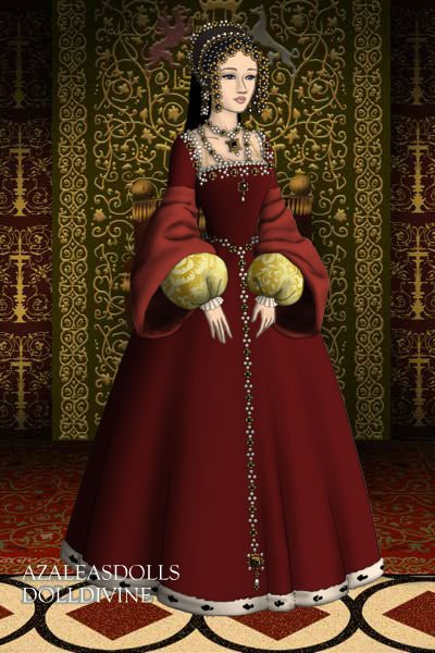 #1 Catherine of Aragon (Divorced) ~ 1st Wife of Henry VIII / Royal Motto: HU