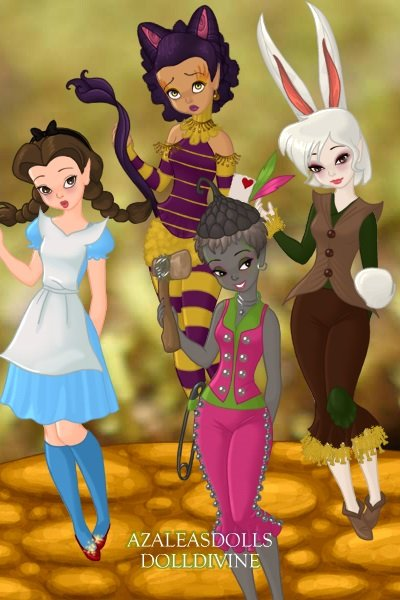 Welcome to WonderOz ~ Characters from Oz are transported to Wo