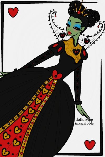 The Wicked Witch-Queen of Hearts ~ The Wicked Witch of the West (Wizard of