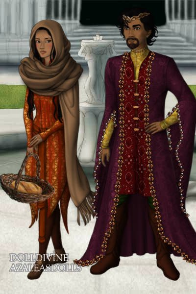 Prince Saleem & Anarkali ~ In 1615 Prince Saleem, son of Mughal Emp