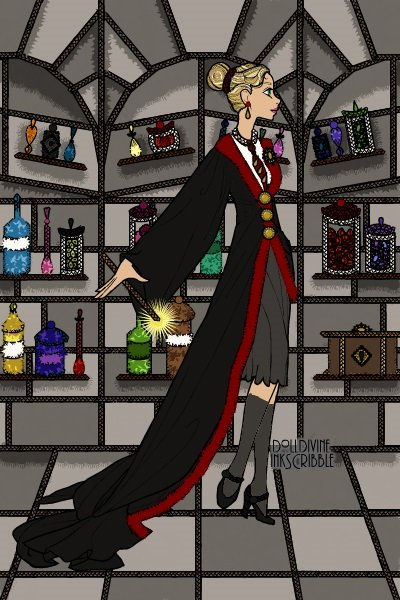 J.K. Rowling (as a Gryffindor) ~ Joanne Jo Rowling (b. 1965) is a British