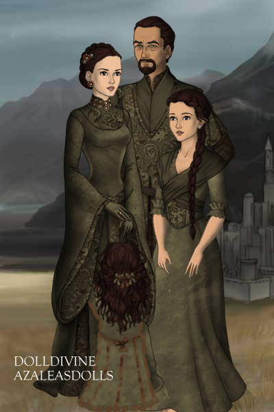 Gondorian Family ~ Made primarily because I really loved th