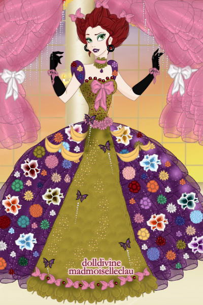 \Wacky-Tacky!\ (ballgown) Étaíne McG ~ My model for DDNTM! From looking at pict