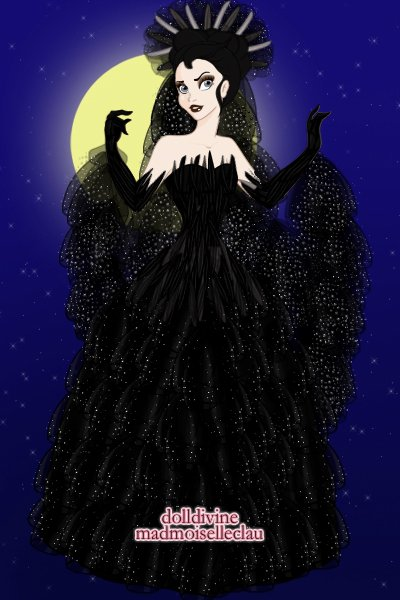 The Queen Of Night ~ from Mozart's The Magic Flute. by my sis