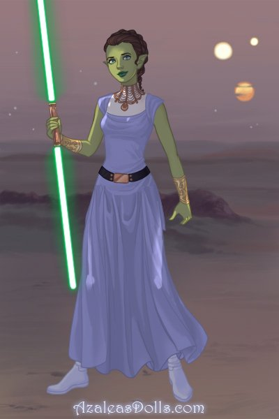 Me as a Jedi ~ Me as a Jedi. Made by NightOwl's sis Gra