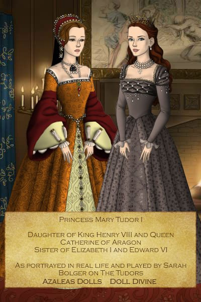 Princess Mary I Tudor Daughter Of King Henry Viii By