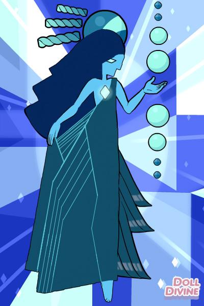 Blue Diamond By Starlight432