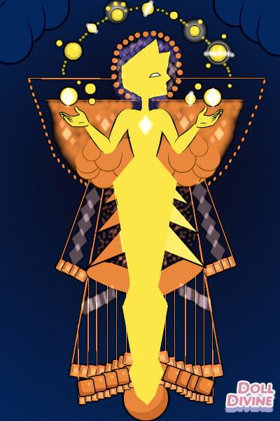Yellow Diamond By Starlight432