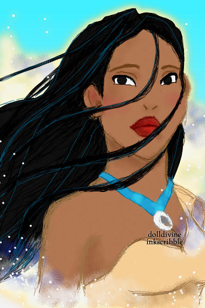 Pocahontas ~ hit with inspiration right after watchin