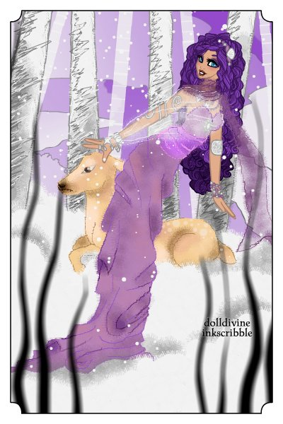 Revisited: Enchanted Birches ~ This is a remake of one of my first doll