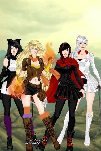 Rwby By Starchan23