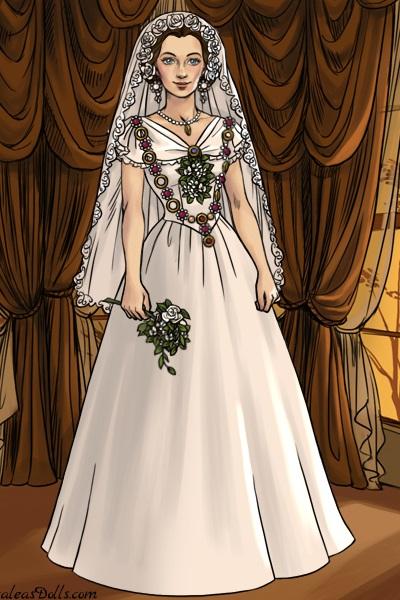 Queen Victoria\'s Wedding Dress ~ by marble_halls