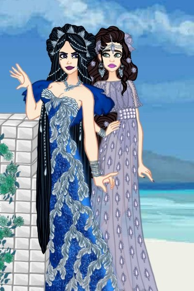\A great Beauty...\ ~ Na'adia and a mystery lady! #TalesofTanj